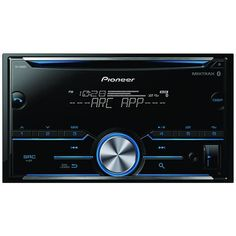 pioneer fh-s500bt double-din in-dash cd receiver with bluetooth app control