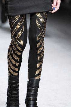 leggings | gareth pugh. More lady Loki costume ideas