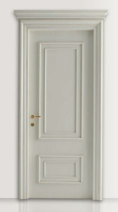 PIETRALTA White lacquered door : White lacquered door CF San Pietroburgo with Monterinaldi moulding. - Browse a wide selection of Classic Wood Interior Doors on New Design Porte Wood Interiors, Interior Door Styles, Italian Interior Design, Wooden Doors, Interior Barn Doors, Entrance Doors, Doors Interior, Bedroom Door Design, Solid Wood Interior Door