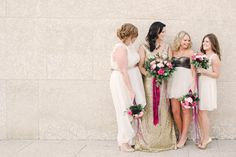 Pink and gold Canadian wedding   Photo by Brittany Mahood Photography   Read more - http://www.100layercake.com/blog/?p=72489