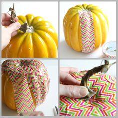Fun! Duct Tape Pumpkin