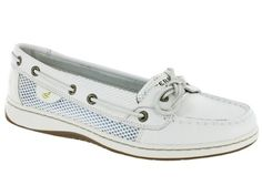 Sperry Women's Angelfish Shoes White Open Mesh: --- can't wait to get these (((: Crazy Shoes, Me Too Shoes, Sperry Boat Shoes, Sperry Top Sider, Womens Flats, Sneakers Fashion, Shoe Boots, My Style