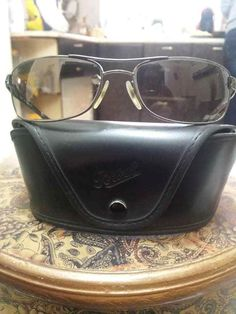 f24d0cf4ff0e Persol Sunglasses 2151 S 51332 Gunmetal Unisex Vintage Rare  fashion   clothing  shoes