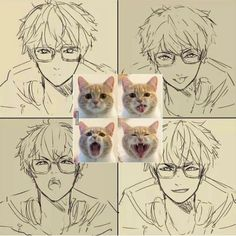 seven, and mystic messenger image/// No need to show the same pictures twice Anime Love, Anime Guys, Cute Anime Boy, Luciel Choi, Mystic Messenger Comic, Naruto E Boruto, Illustrations, Saeran, Messenger Games