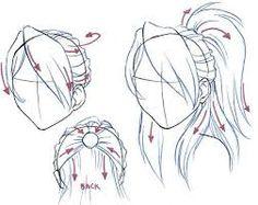 Znalezione obrazy dla zapytania Different-Hairstyles-Drawing