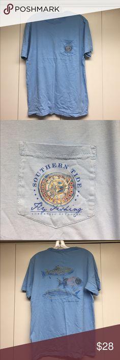Southern Tide t-shirt Light blue Southern Tide t-shirt. Lightly worn. Southern Tide Tops Tees - Short Sleeve
