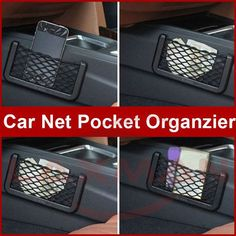 Protect and Organize your valuable Things through #CarNetPocketOrganzier