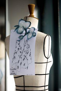 メイキング: リウ・イーフェイのドレス | DIORMAG