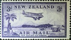 New Zealand (503) 1935 Airmail