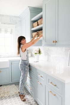 Boho Home Decor Jillian Harris Swiffer Tips to Cleaning a New Home.Boho Home Decor Jillian Harris Swiffer Tips to Cleaning a New Home Easy Home Decor, Cheap Home Decor, Laundry Room Inspiration, Jillian Harris, Laundry Room Design, Laundry Rooms, Laundry Room Floors, Laundry Room Cabinets, Painted Cabinets In Bathroom