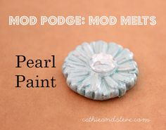 Cathie Filian: Our New Product Line: Mod Melts for Mod Podge! DIY your own embellishments!