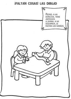 Dibuja lo que falta | Material De Aprendizaje