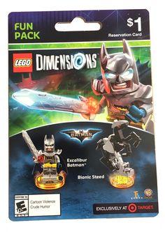 Lego Dimensions Excalibur Batman Wave 8