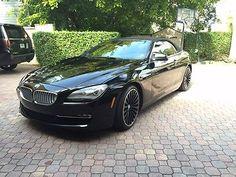 2012 BMW 650i Convertible V8 4.4L Options!! NO RESERVE