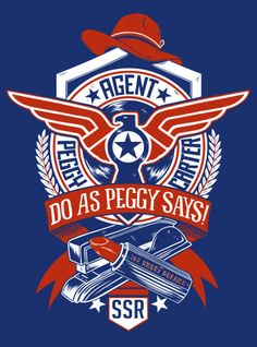 """Agent Carter """"Do As Peggy Says"""" T-Shirt by Unicorn Empire. Available at www.reedpopsupplyco.com/Agent-Carter-Do-As-Peggy-Says-Ladies-T-Shirt-p/15120.htm"""
