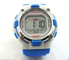 Lady Girl Sports Digital Watches Water Resistant Alarm Day Date Watchlight Timer