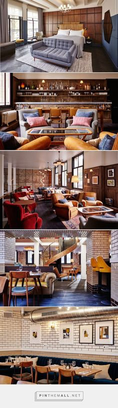 Travel Directory - The Hoxton - Amsterdam, Netherlands | Wallpaper* Magazine... - a grouped images picture - Pin Them All