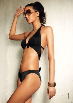 Maillot de bain Aubade, parce que le bikini noir ne se démode pas