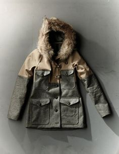 Woman ‹ Store ‹ Nigel Cabourn Nigel Cabourn, Denim Fashion, Diy Clothes, Canada Goose Jackets, Parka, Fashion Forward, Work Wear, Military Jacket, Winter Jackets
