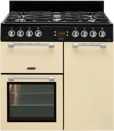 Leisure Cookmaster Dual Fuel range cooker cream CK90F232C 90cm