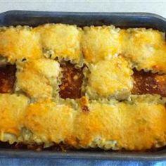 Mexican Lasagna Rollups Allrecipes.com