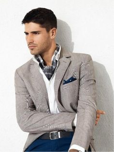 .Love the jacket and is that an ascot?