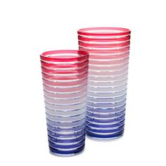 An assortment of colors pairs Stripes with any dinnerware. European styled…