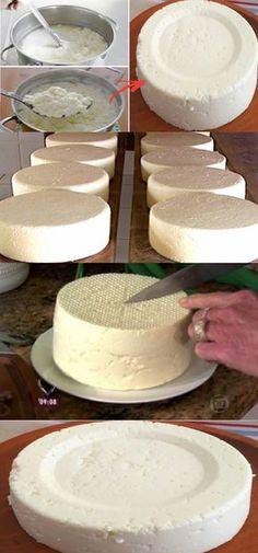 MAGNÍFICA RECEITA: COMO PREPARAR UM DELICIOSO QUEIJO EM MENOS DE 1 HORA #comofazerqueijo #fazerqueijo #queijo #queijoartesanal #queijocaseiro