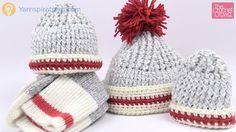 Crochet Sock Hats - All Sizes + Tutorial
