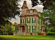 The Davenport-Curtiss House constructed in 1875 in the Second Empire Style…