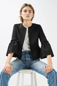 Crop Frill Jacket - New In This Week - New In - Topshop Europe