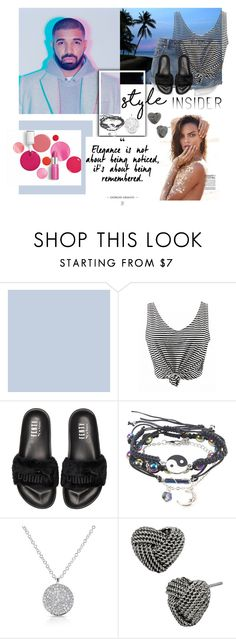 """Beaches"" by jakenpink ❤ liked on Polyvore featuring Clinique, Puma and Betsey Johnson"