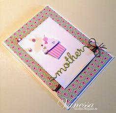 Wunderbare Karten selber machen - mit Bastelmaterial von folia. Mehr lesen Sie bitte unter http://vanilljas.blogspot.de/2015/04/fusion-card-challenge-cupcake.html