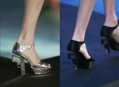 Extraordinary...to be continued#fashion show#design#shoes#art