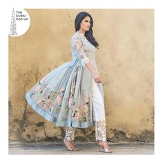 This hand embroidered Anarkali with lace pants & 3D flower embellishment is making us swoon! . Shop this & more at The Dubai Pop-up by BluMuslin on 29th September at Millennium Plaza Hotel Dubai, Sheikh Zayed Road. 3:00pm-10:00pm . . . .  #DUBAI #PopUp #Exhibiton #Designer #Blumuslin #fashion #SALE #multidesigner #Webstore #onlinestore #instafashion #luxury #luxurious #shopping #Love #shopaholics #Indiandesigners #indianculture #indianwedding #Indianclothes #indianfashion #bridal #wedding