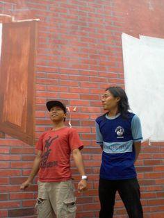 BesekWeekend III  Dalam Rangka Mural di Kampung Semarang