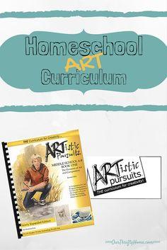 Homeschool Art Curri