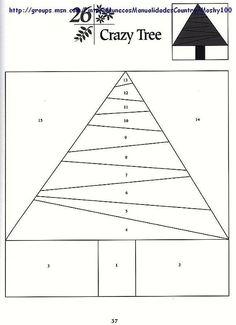 Шаблоны для пэчворка 101 Foundation-Pieced Quilt Blocks 037