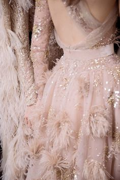 "skaodi: "" Backstage at Elie Saab Haute Couture Fall/Winter 2016. Paris Fashion Week. Photographed by Kevin Tachman """