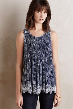 Kelby Swing Tank - anthropologie.com