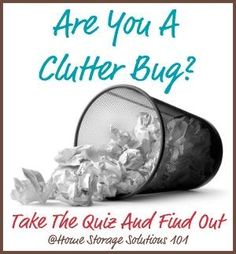 Are you a clutter bu