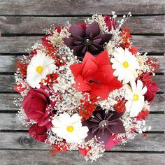 Bouquet con colores de la pasión
