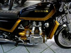 Honda Goldwing Gl1100 Bobber Replaced With Traditional Gas