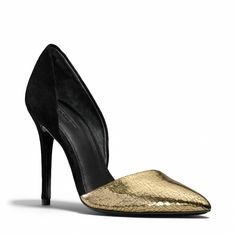 The Hollis Heel from Coach- what a gorgeous shoe!