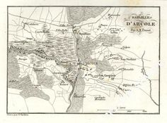 Battle of Arcola, 15 - 17 November 1796.