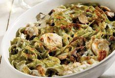 Πράσινες ταλιατέλες µε γαλοπούλα στο φούρνο-featured_image
