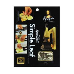 Mona Lisa Simple Gold Leafing