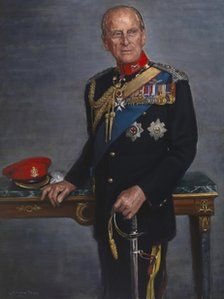 HRH The Duke of Edinburgh, Colonel in Chief of the Queen's Royal Hussars by Jemma Phipps, 2012 Elizabeth Philip, Queen Elizabeth Ii, Royal Queen, King Queen, Conquistador, Prinz Philip, Adele, English Royal Family, Queen Elizabeth