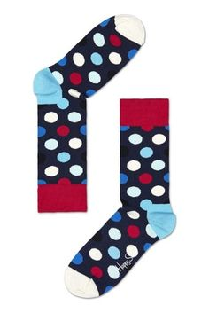 Happy Socks Official Online Store: Over 200 unique sock designs & matching underwear for men. Shop your favorite colorful socks & underwear today! Cute Socks, My Socks, Happy Socks, Crazy Socks For Men, Polka Dot Socks, Unique Socks, Sock Hop, Colorful Socks, Dots