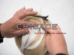 Crisace HAIR2GO Clip In Bangs Hair Extensions - YouTube
